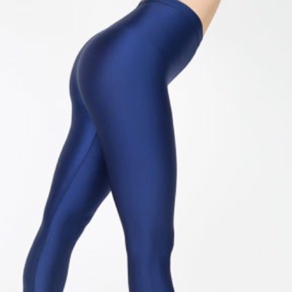 41% off American Apparel Pants - AA Shiny Nylon Tricot Leggings ...