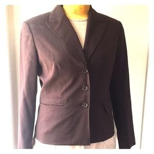 Worthington chocolate brown Office wear blazer