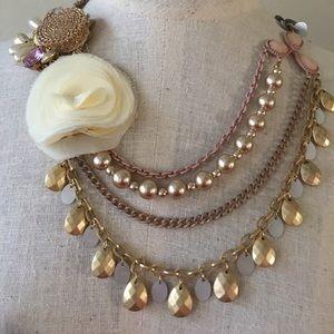 Beautiful statement necklace