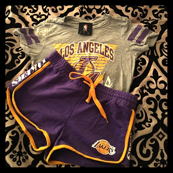 782132a27d9 Forever 21 Tops - Lakers outfit