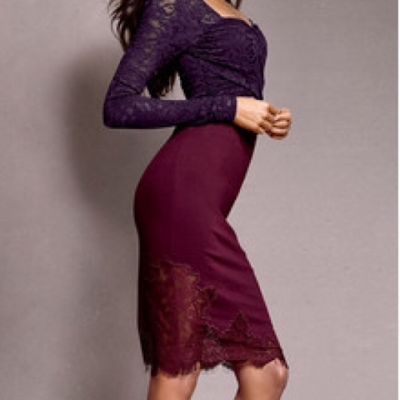Victoria's Secret - Body by Victoria Lace Pencil Skirt from Lauren ...