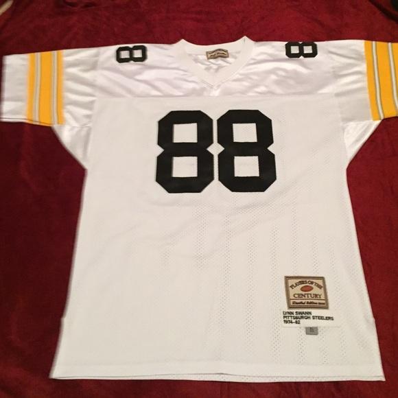 Lynn Swann XL Pittsburgh Steelers Football Jersey