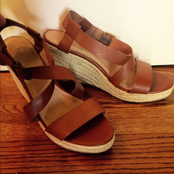 2969a6aa2 GAP Shoes - Brown GAP wedge sandals