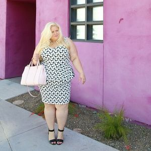Dresses & Skirts - Polka dot peplum dress