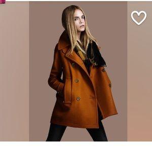 Jackets & Blazers - Brand new burnt orange wool coat.