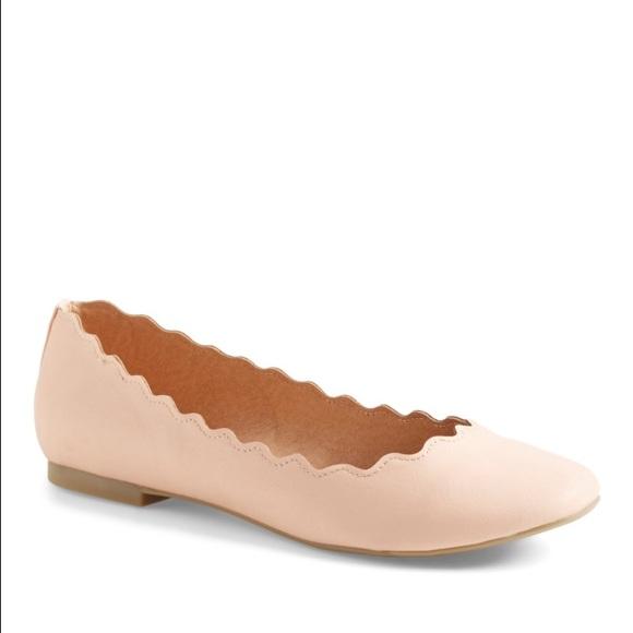 Athena Alexander Toffy Scallop Ballet Flat cQf6zHZ