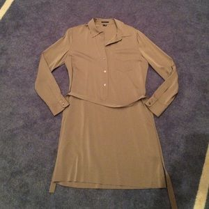 Theory Silk Shirtdress size 8