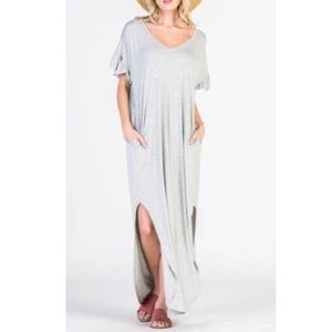 New colors!! Chic dress BACK IN STOCK in Grey