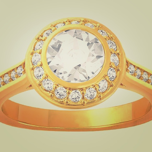 dce207eed Gold Angelic Ring - Swarovski. M_5701eb3d36d594745f01ded1