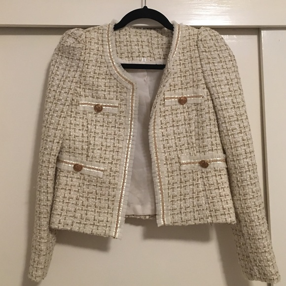 Excellent Chanel Style Tweed Jacket | Poshmark QO67