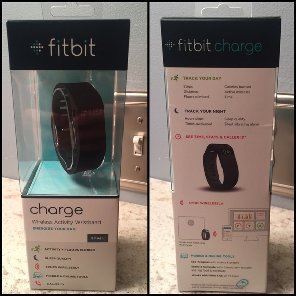 34% off Fitbit Other - NWT/NIB Fitbit Charge, Size Small, Black ...