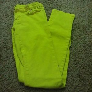 Urban Vibe Yellow Skinny Jeans