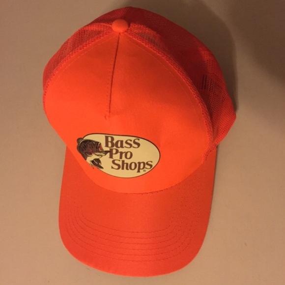 c234cf47f669c Accessories - Bass Bro Shop Neon Orange Mest Hat