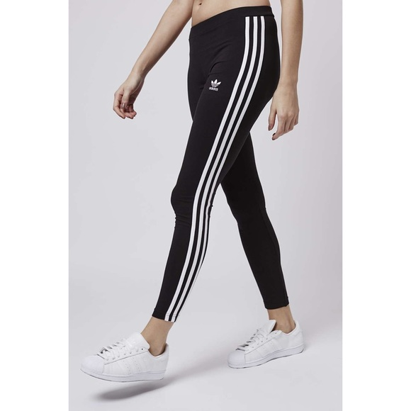 new lower prices best sale performance sportswear Adidas original 3 stripe leggings