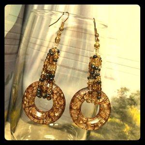 One day sale Vintage earrings