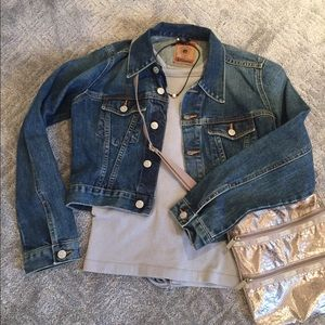 RED ENGINE Jackets & Blazers - 🎊HP-12/16/16🎊 Cropped denim jacket