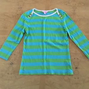 Lilly Pulitzer Tops - Lilly Pulitzer 3/4 sleeve top