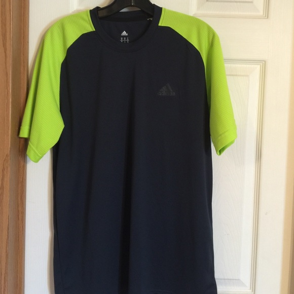 adidas neon shirt