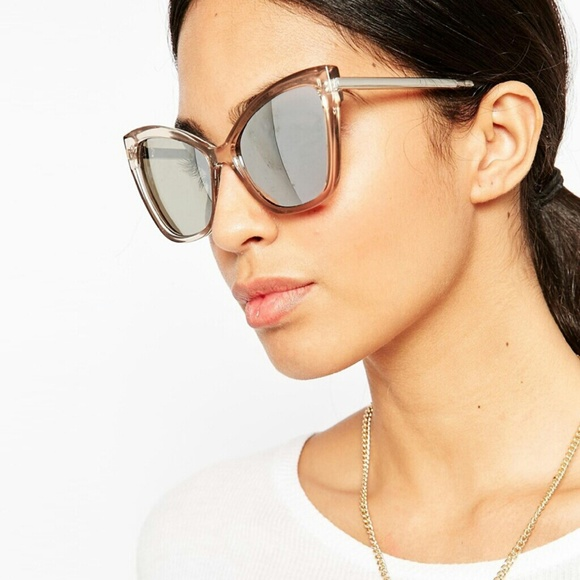 ba051a37cfe Le Specs naked eyes sunglasses in stone