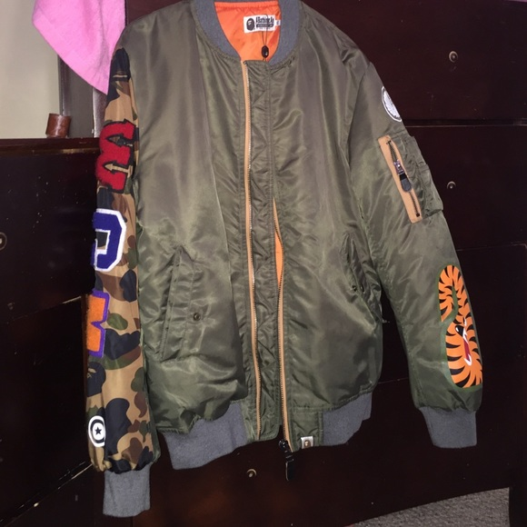 Bape Jackets   Blazers - BAPE bomber 114d6bb81