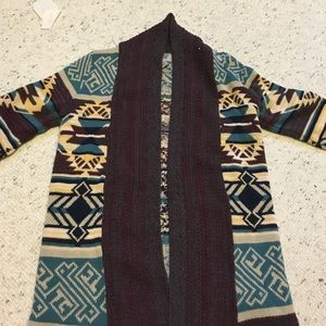 "Urban Outfitters ""Ecote"" long cardigan sweater."