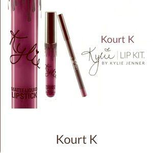Kylie Lip Kit Other - Kylie Lip Kit Kourt K