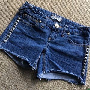 Free People Size 26 Denim Shorts