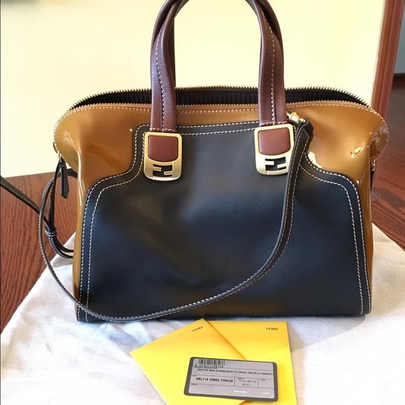 66b53f2feb5d FENDI Handbags - 💯 FENDI Chameleon satchel
