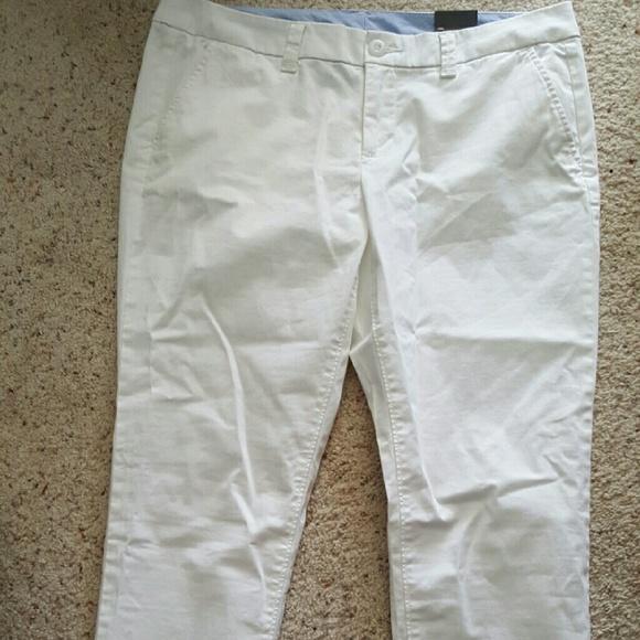 5f955687a9f55 JCP white capri pants