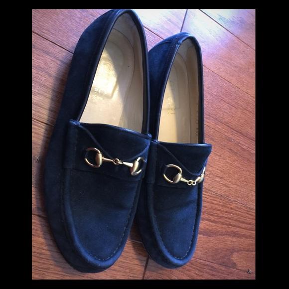 fad7345d4ec089 Gucci suede navy blue loafers 🎉flash sale 🎉. M_5702a235eaf030ff02005f48