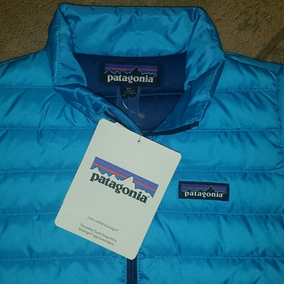 Patagonia Toddler Baby Down Sweater Vest Nwt 5t