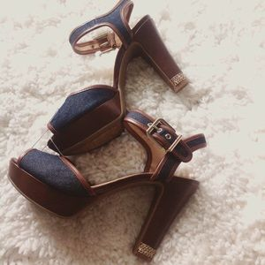 "ANTONIO MELANI Shoes - 4"" Ankle strap heels!"