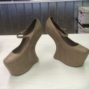 Jeffrey Campbell Funky platform pumps