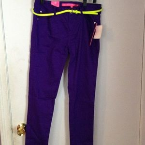 Denim - Purple jeans