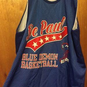 new styles ac259 143b8 DePaul Blue Demon Practice Basketball Jersey