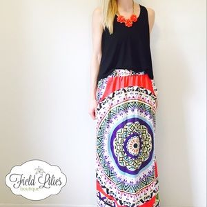 Dresses & Skirts - 🌟ClEARANCE🌟 Bohemian Summer Maxi Skirt