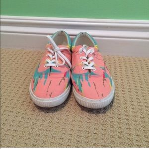 Bucketfeet Shoes - Lightly worn colorful Bucketfeet