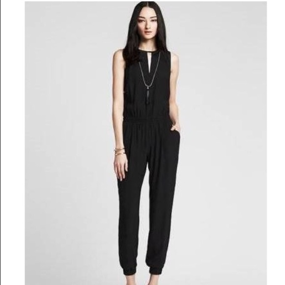 80b64a91a7e Banana Republic Dresses   Skirts - Banana republic black tuxedo jumpsuit.