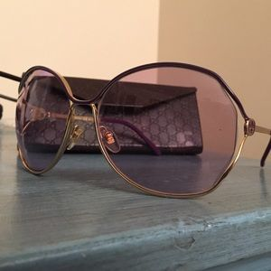 91b00ba5d46 Gucci Accessories - Gucci GG 2846 N S Sunglasses - Gold Haze Lilac