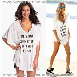 Other - SOLD | Flirty Beach Coverup or Casual Tunic