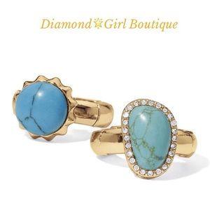 🎉Sale🎉Caribbean stones ring set