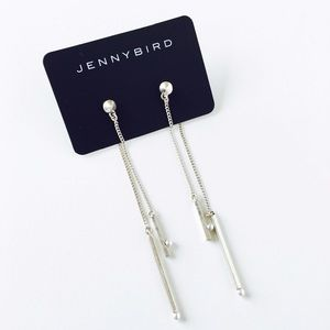 Jenny Bird Jewelry - Jenny Bird Silver Watson Earrings.