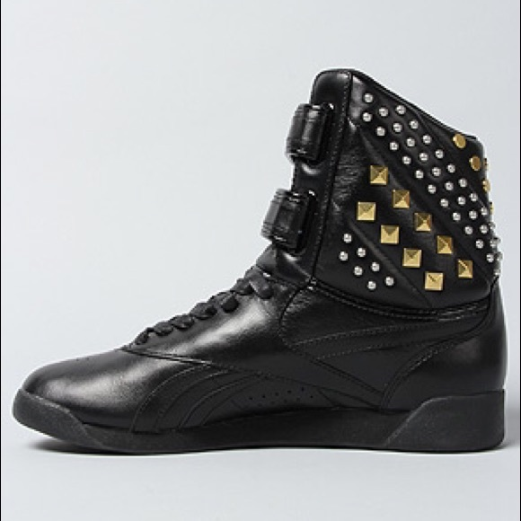 Reebok x Alicia Keys studded high top sneakers 5447f9d2c