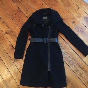 Mackage Wool, Cashmere & Leather Coat