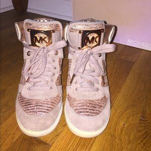 Michael Kors Rose Gold Sneakers | Poshmark