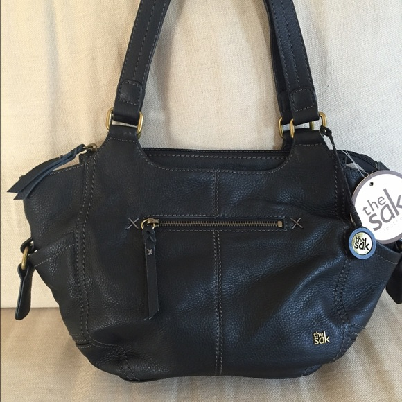 de8c6d7a9802 The Sak Kendra Satchel - black leather