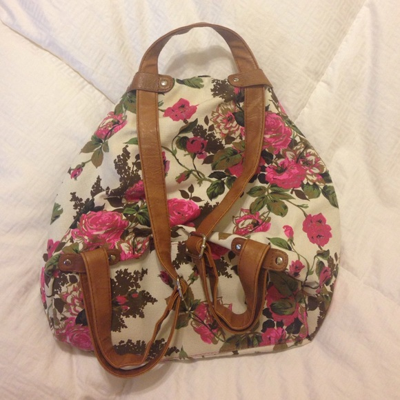 50% off Handbags - Floral backpack purse/bag from Ashley's closet ...