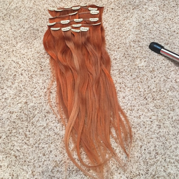 78 off foxy locks accessories ginger red human hair extensions foxy locks accessories ginger red human hair extensions pmusecretfo Image collections