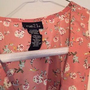 Rue21 Dresses - Rue21 Peter Pan dress