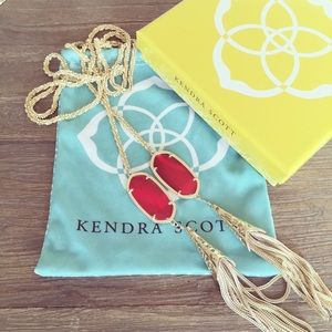 Kendra Scott Megan Lariat Necklace